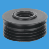 McAlpine Soil Pipe 110mm Adaptor 1.1/4 and 1.1/2 - 39060006